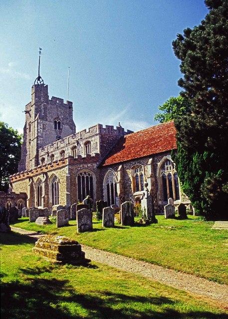St Mary's Church, Cavendish, Suffolk