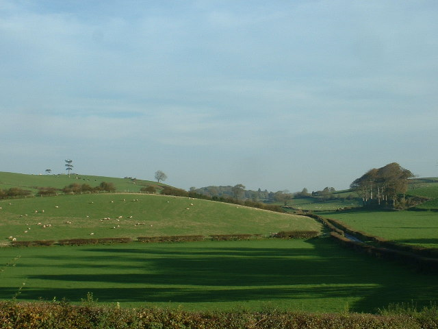 Farmland near Hest Bank