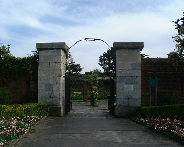Entrance to Lumps Fort, Canoe Lake grounds, Southsea