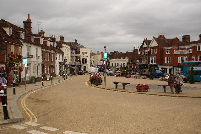 High St, Battle - next to Battle Abbey, East Sussex