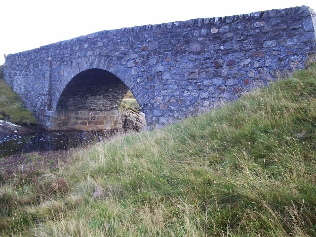 The Road Bridge that crosses Allt a Chraisg