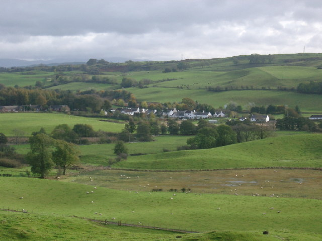 Ringford from Low Barcaple