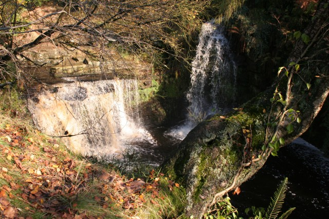 Lumb Hole Waterfalls