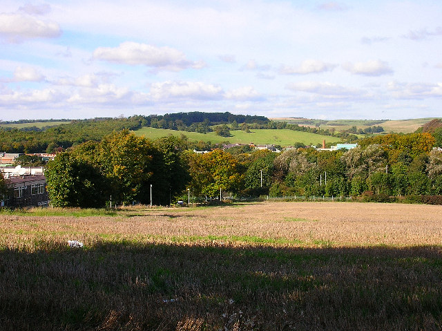 Site of new Brighton football ground, Falmer