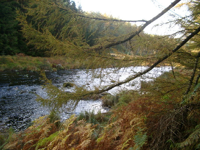 Black Water of Dee from the Raiders Road