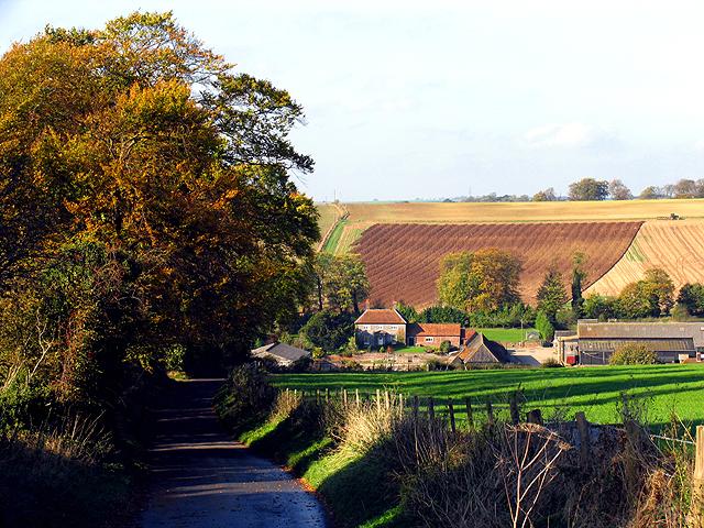 Manor Farm near Chaddleworth