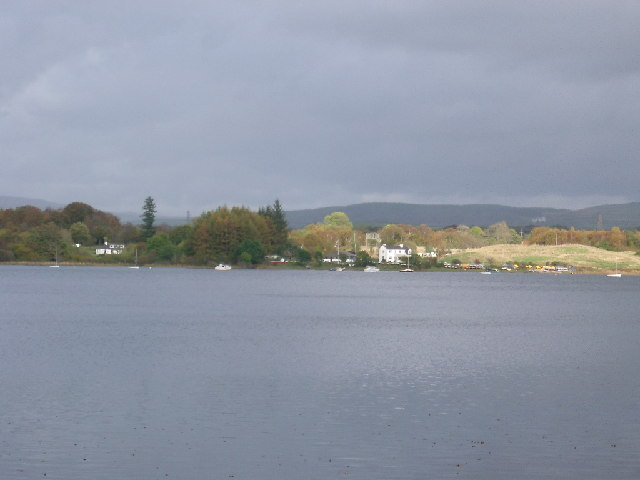 Ringbane Sailing Centre across Loch Ken