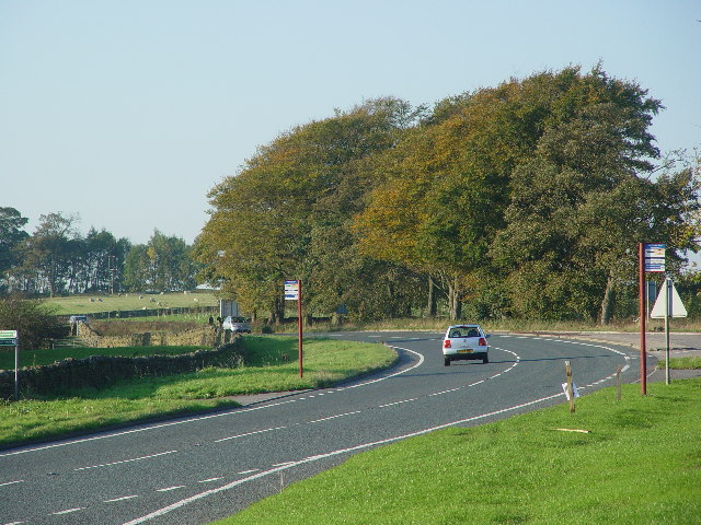 A65 just north of Addingham