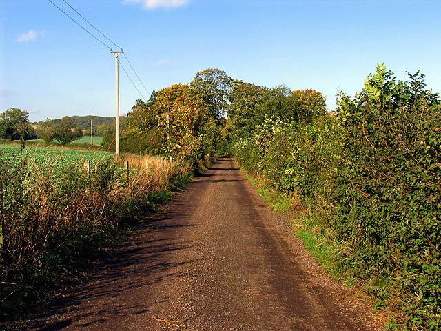 Byway near Ramsworth Cottages