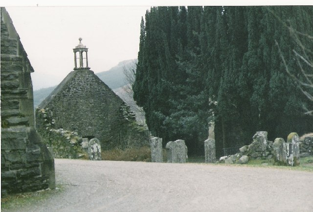 The old church at Balquhidder