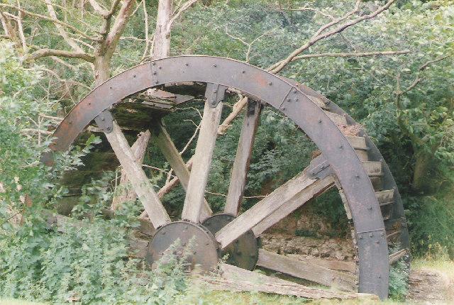 Old Waterwheel at Marske