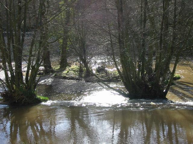 Mill Race below Dinham Weir