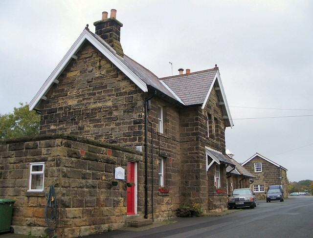 Former station buildings