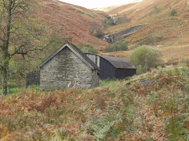 Bothy and Shearing Shed at Hafod Fudr