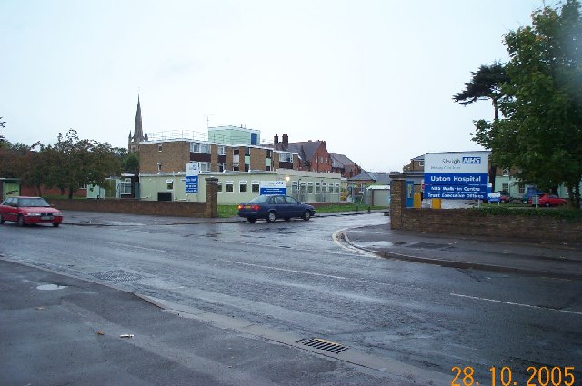Slough: Upton Hospital, Albert Street