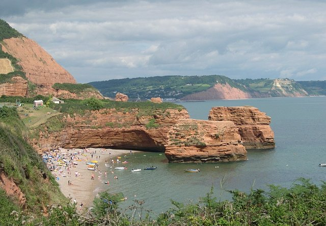 Ladram Bay, west of Sidmouth