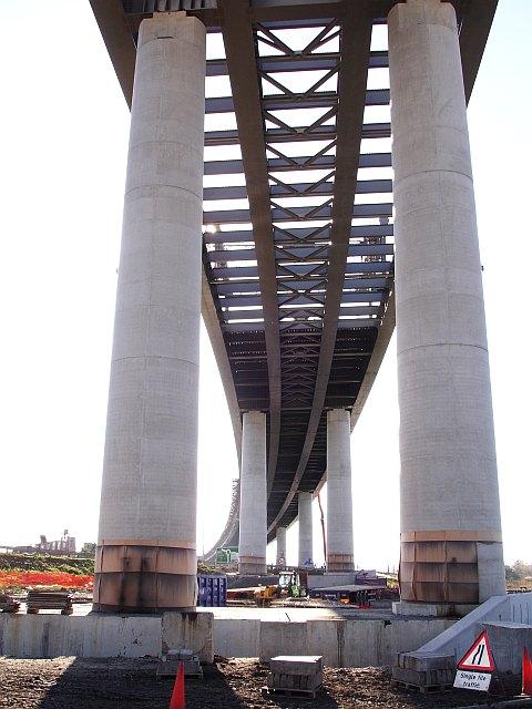 New bridge - south view