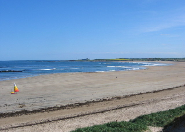 Southern half of Beadnell Bay
