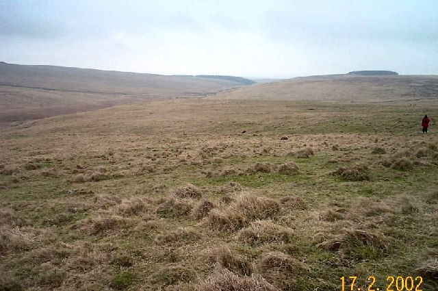 Approaching Holming Beam - Dartmoor