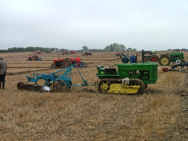 Ploughing competition.