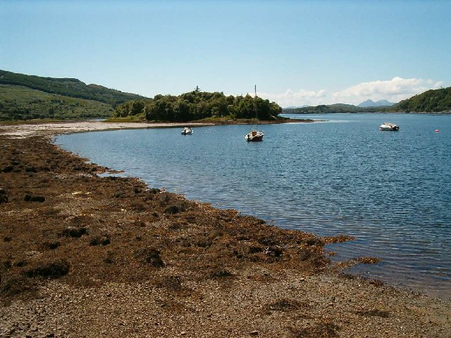 Eilean Mhartan on Loch Sween, Mid Argyll