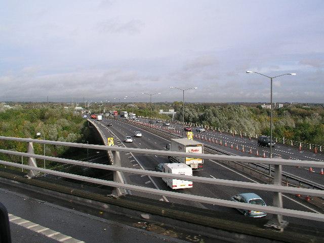 The M25 Northbound