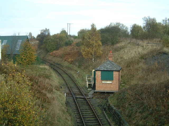 Marley Hill Signal Box