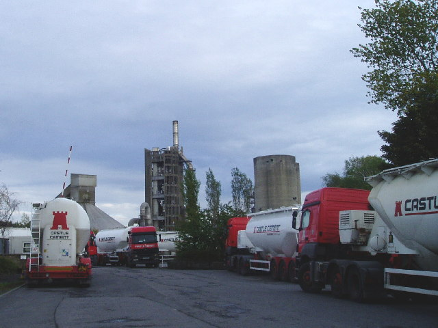 Castle Cement Works Clitheroe