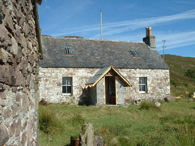 Old stalker's Cottage at Airigh-Drishaig