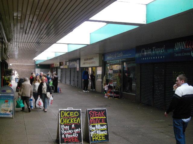 West Denton Shopping Centre
