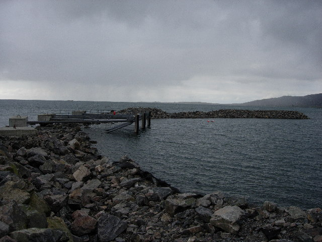 Storm Damage to breakwater