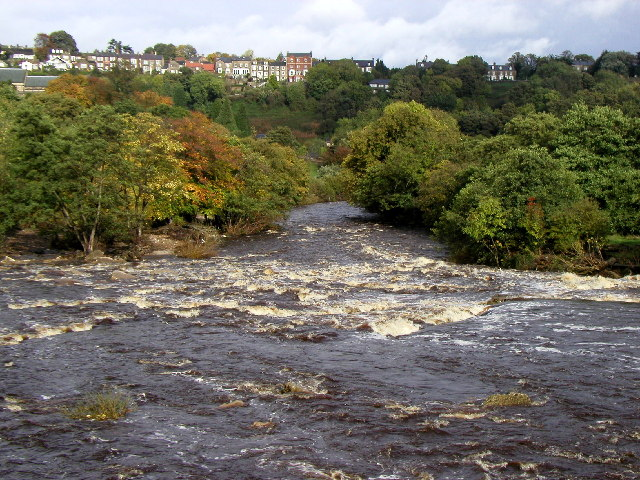 The River Swale at Richmond
