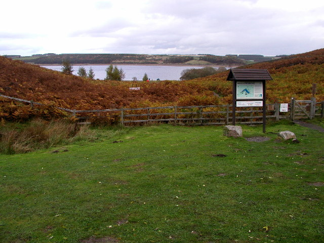 Derwent Reservoir and Pow Hill Country Park