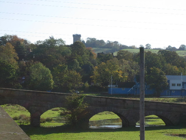 Tower seen from Burton Bridge