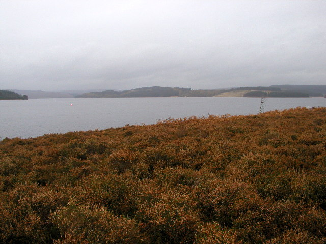 The View over Kielder Water