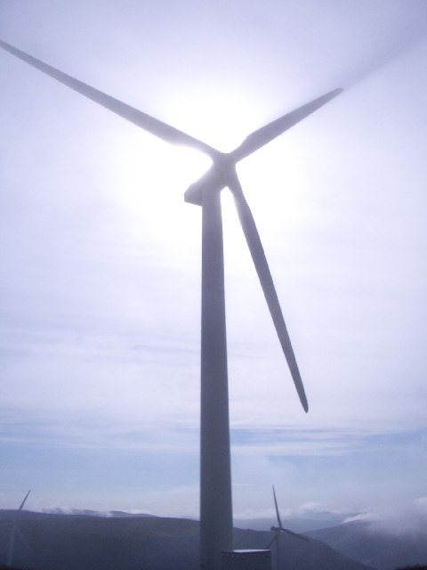 Wind turbine, Bowbeat Hill