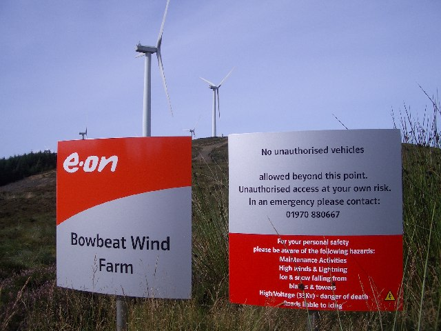 Bowbeat Wind Farm