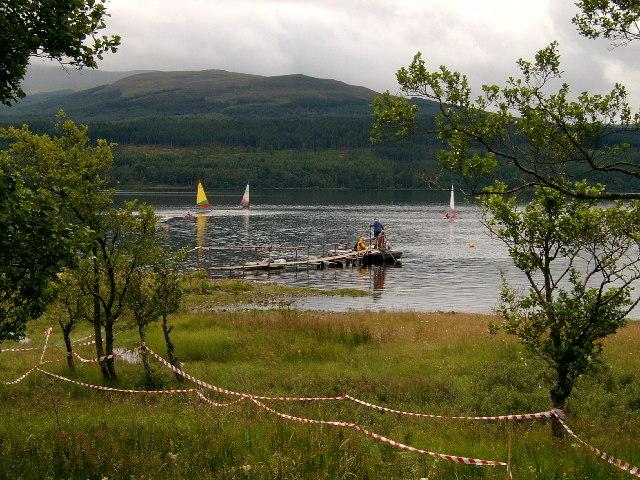 Loch Rannoch, Aulich