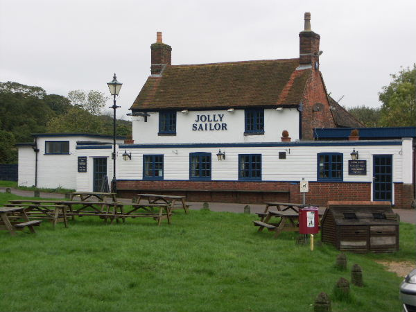 Jolly Sailor Public House, Ashlett, Hants