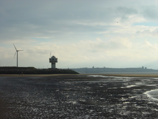 Radar Station and Wind Turbine, Crosby