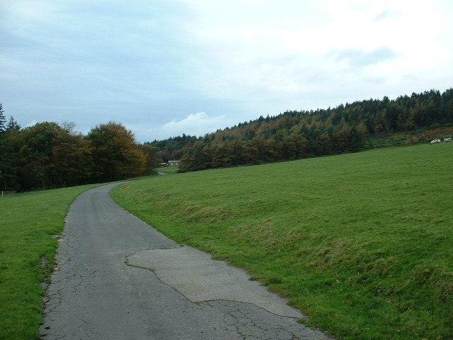 The Road to Bleasdale Tower