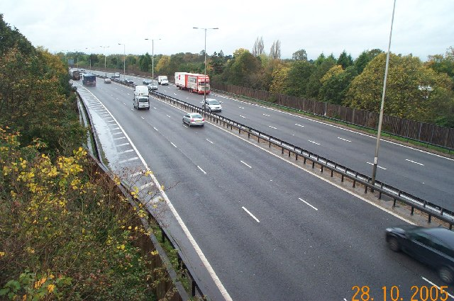 M4 Motorway near Dorney Reach