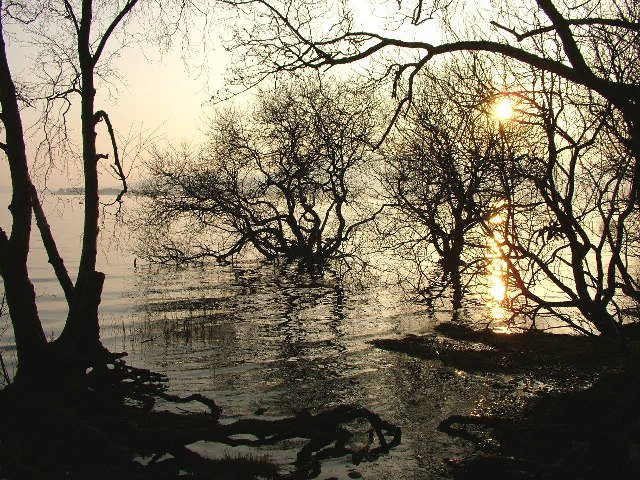 Sunset on Loch Lomond