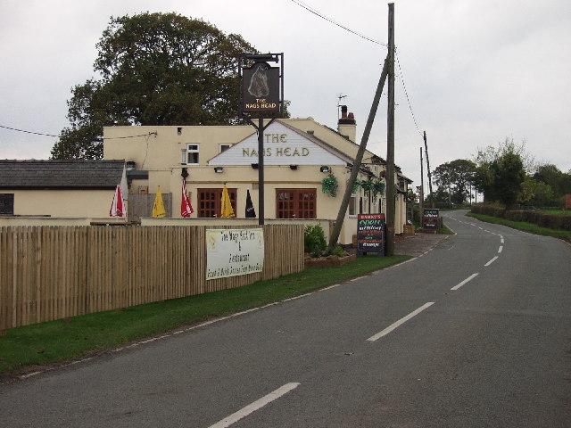 Pub at Ridleywood near Holt