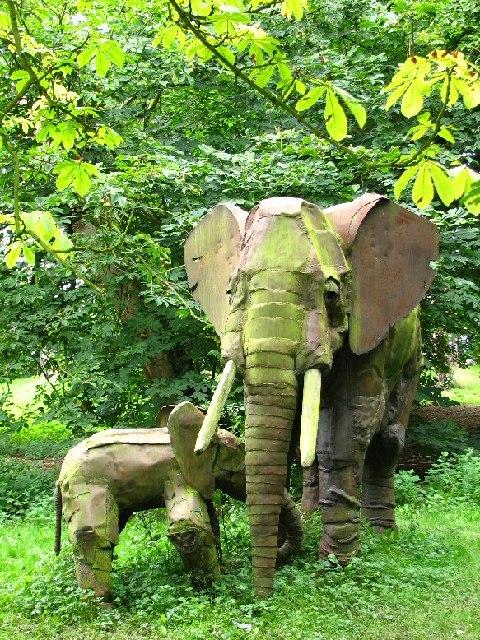 Newnham Paddox Sculpture Park