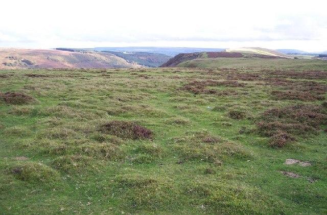 Cefn Manmoel ridge, Blaenau Gwent