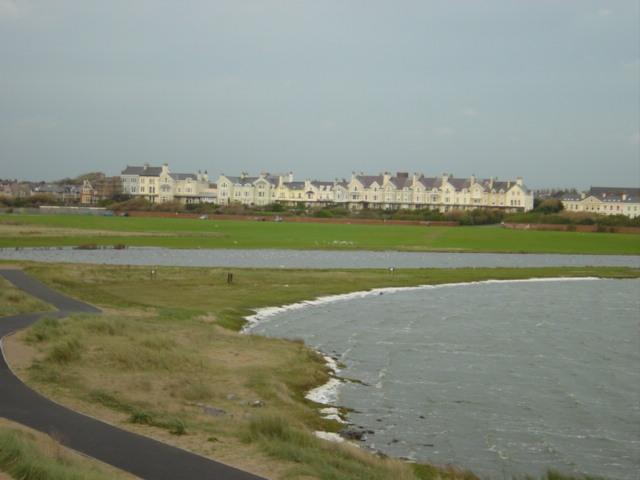 Waterloo from across the Marine Lake
