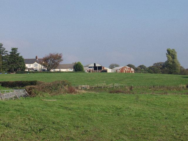 Cristionydd farm near Pen-y-cae