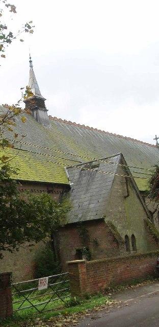 Nordelph's derelict church