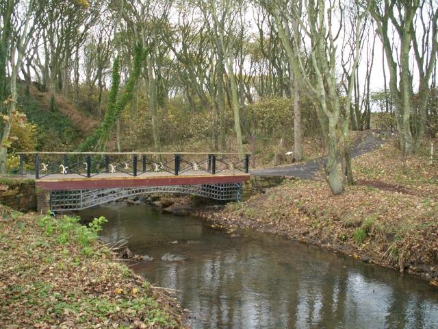 Bridge over the Cambo Burn